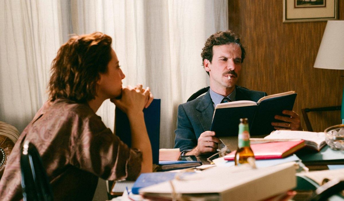 Il Cacciatore 2 Francesca Lagoglio e Saverio Barone interpretati da Francesca Inaudi e Francesco Montanari Credits RAI