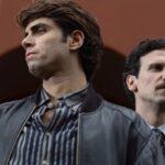 Il Cacciatore 2 Giuseppe Monticciolo interpretato da Carlo Calderone e Saverio Barone interpretato da Francesco Montanari Credits RAI