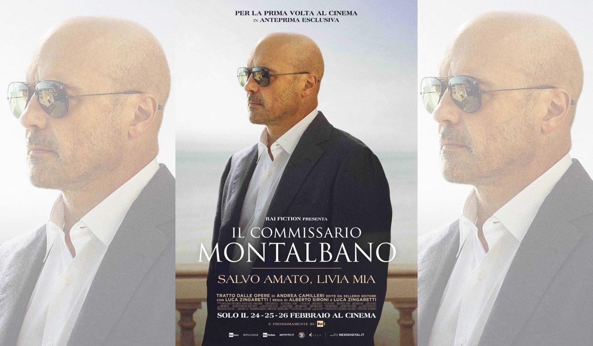 Il Commissario Montalbano 2020 al cinema in anteprima esclusiva con la prima puntata Salvo Amato Livia Mia Credits Palomar e Rai Fiction e distribuito nei cinema italiani da Nexo Digital