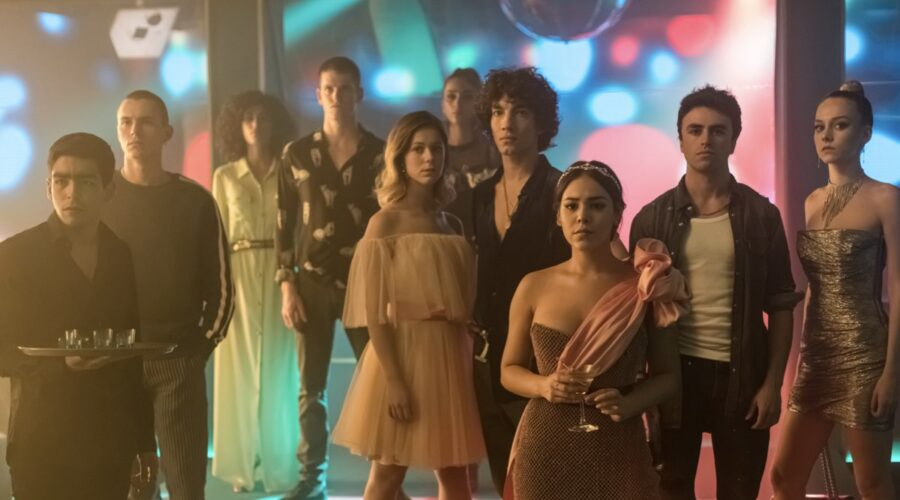 Il cast di Elite 3 in una scena della terza stagione. Credits Netflix