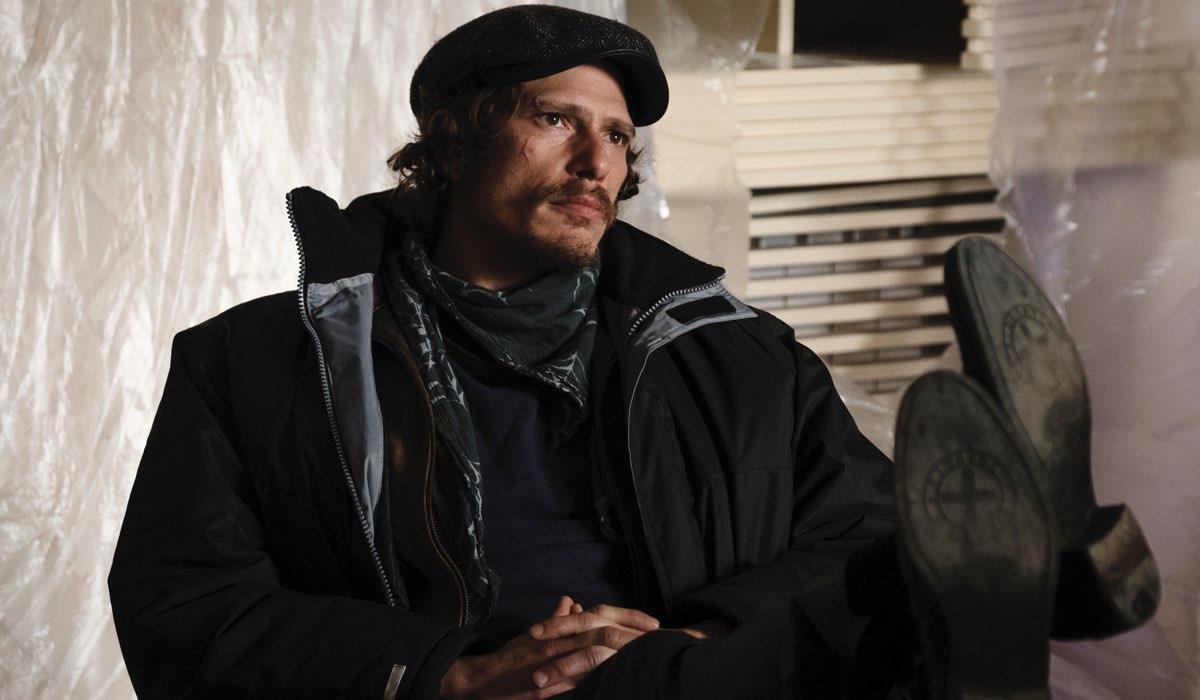 Matteo Martari ne L'alligatore regia di Daniele Vicari e Emanuele Scaringi Credits RAI