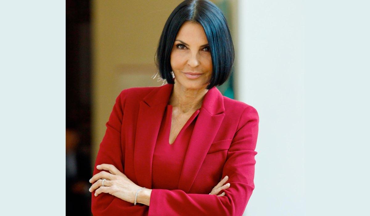Nina Soldano in Un Posto al sole soap opera Credits RAI