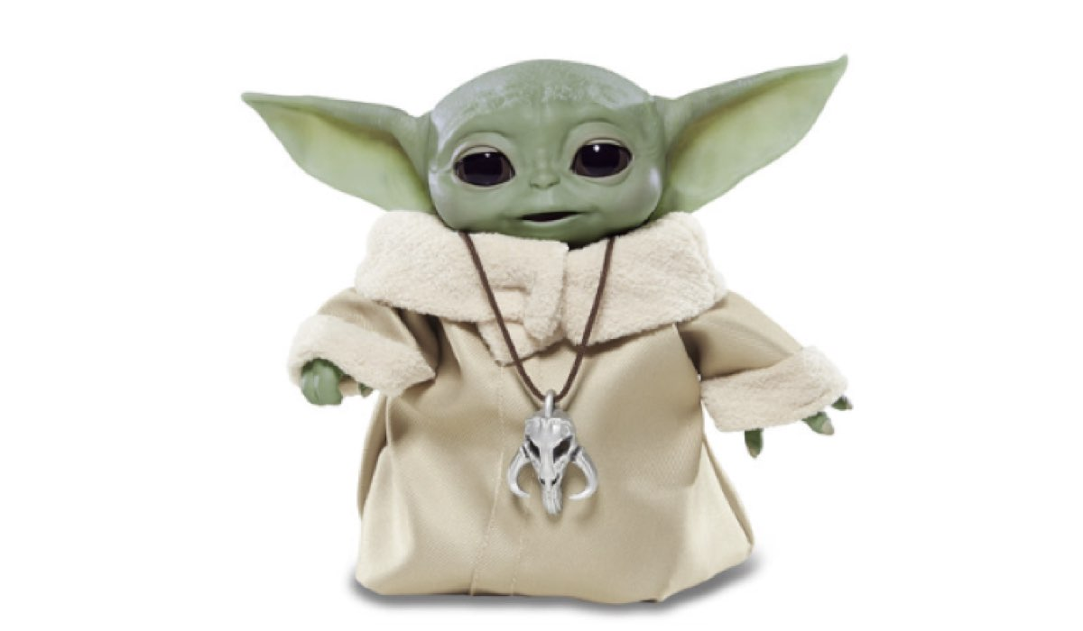 Peluche Baby Yoda Credits Hasbro e Disney+