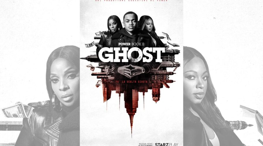 Power Book 2 Ghost poster Credits STARZPLAY