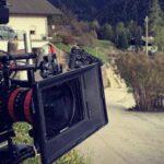 Vite in fuga, foto di scena condivisa dal regista Luca Ribuoli sul account Instagram
