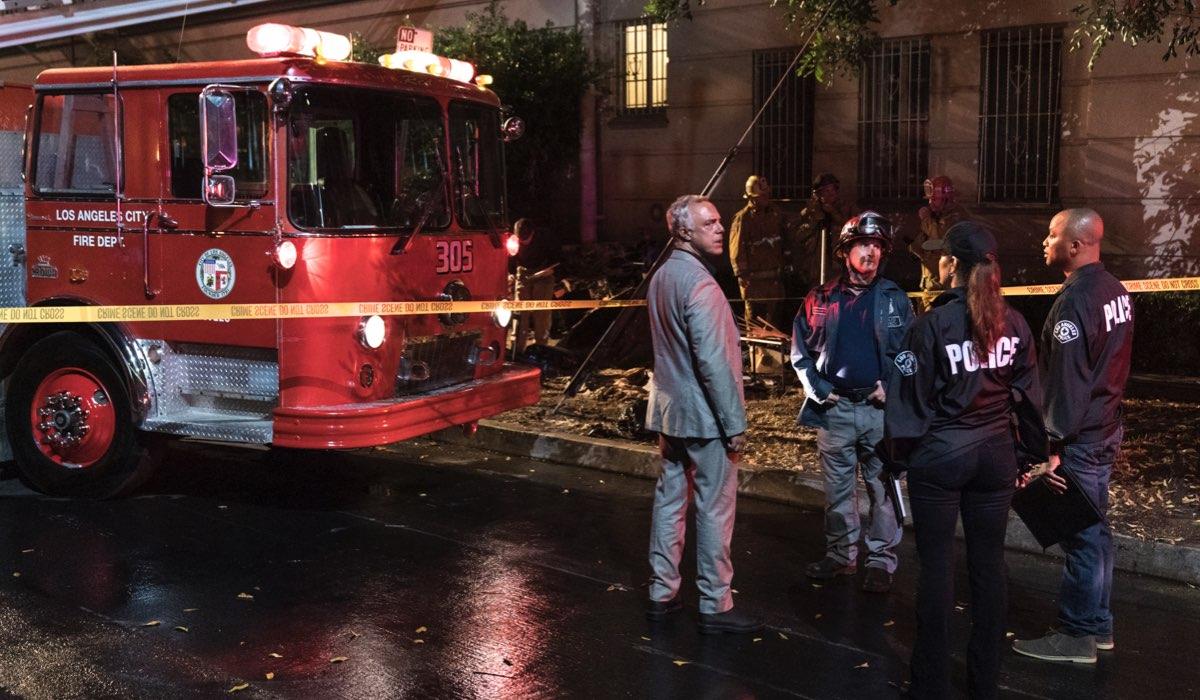 """Titus Welliver in una scena della settima stagione di """"Bosch"""". Credits: Amazon Prime Video."""