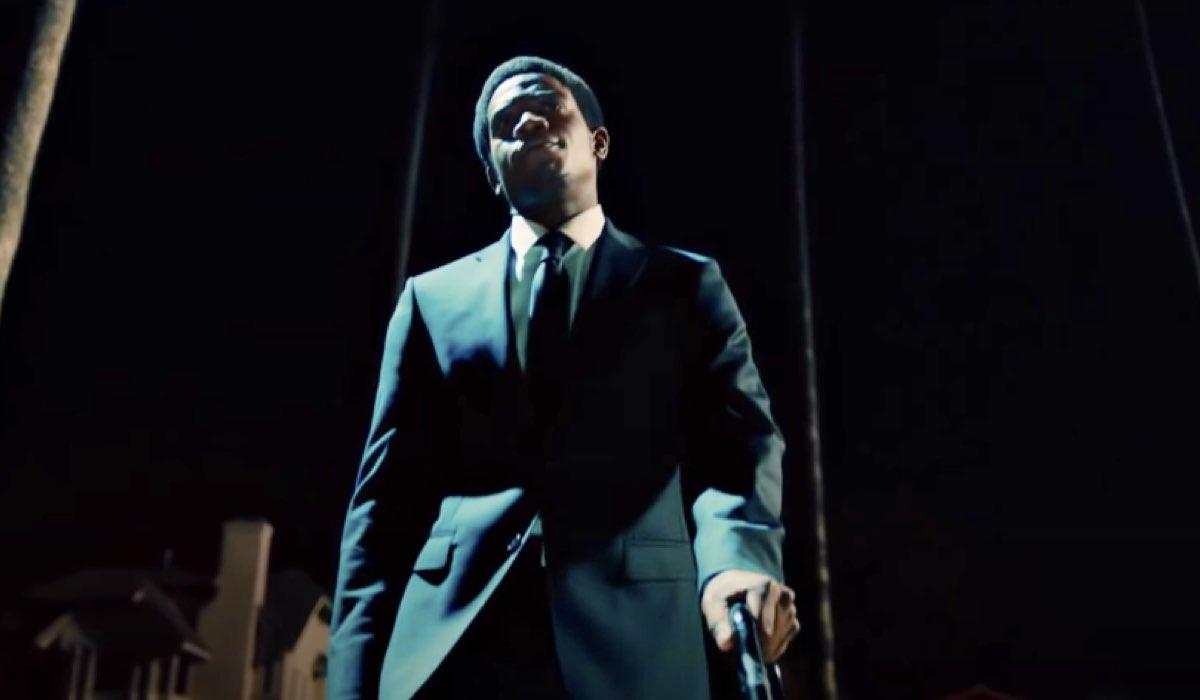 Franklin Saint interpretato da Damson Idris in una scena di Snowfall 4. Credits: YouTube/FX.