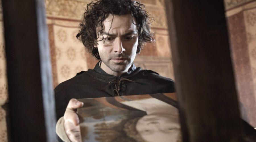 Aidan Turner nei panni di Leonardo in Leonardo. Credits Angelo Turetta, Lux Vide e Rai Fiction