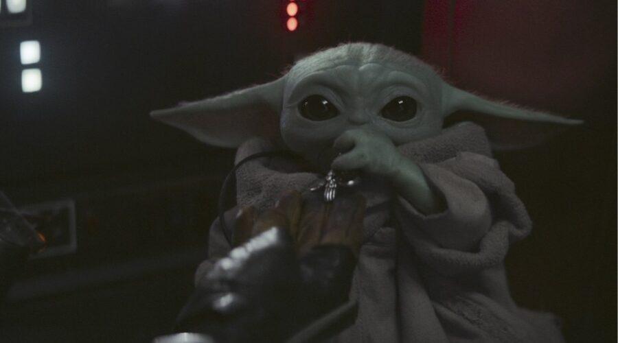 Il Bambino in The Mandalorian Credits Disney Plus e Lucasfilm