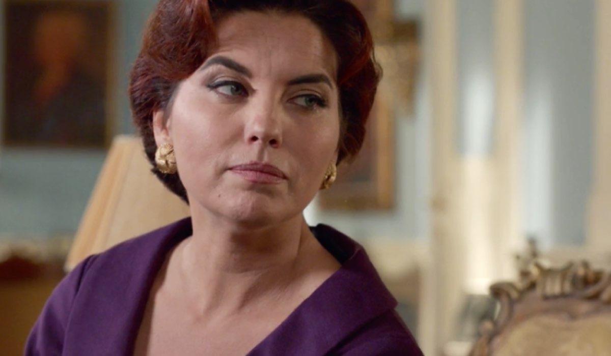 Il Paradiso delle Signore 4 Adelaide di Sant'Erasmo interpretata da Vanessa Gravina, qui nella puntata 43 Credits RAI