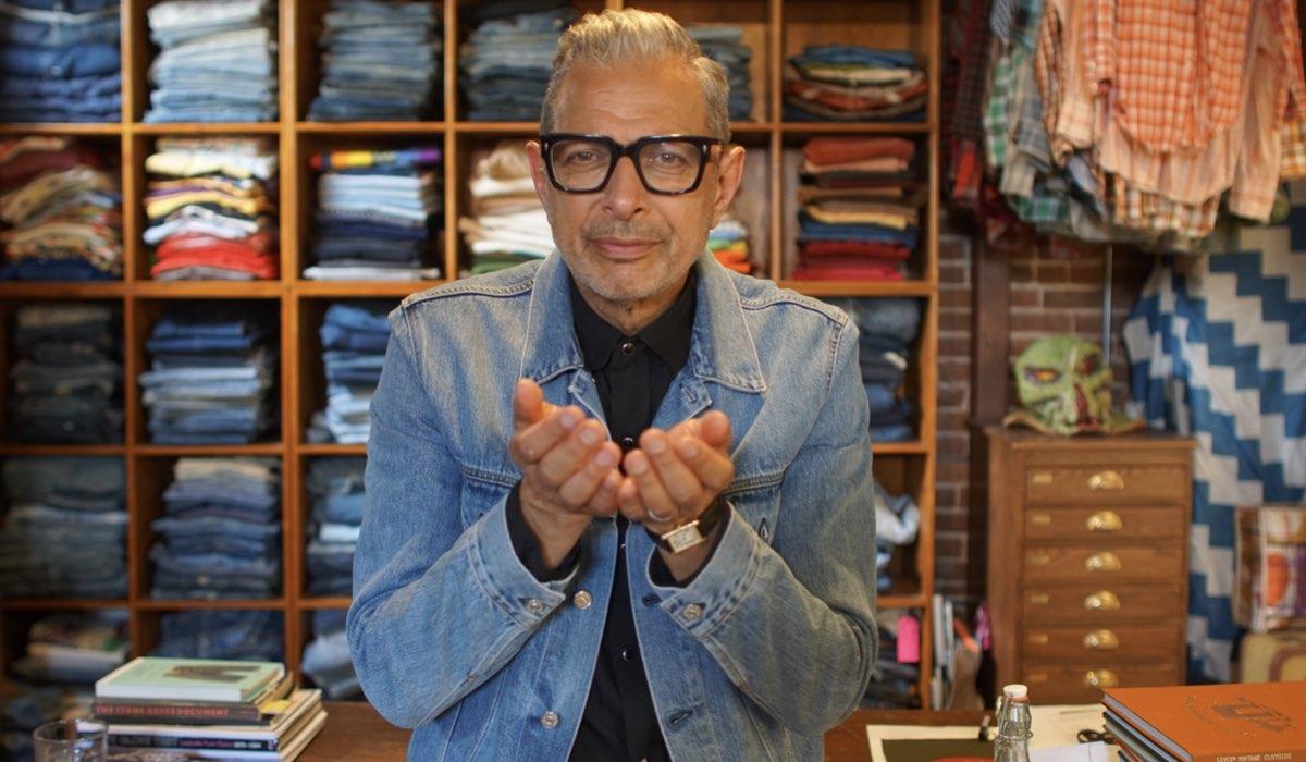 Jeff Goldblum in una foto della serie. Credits Disney Plus