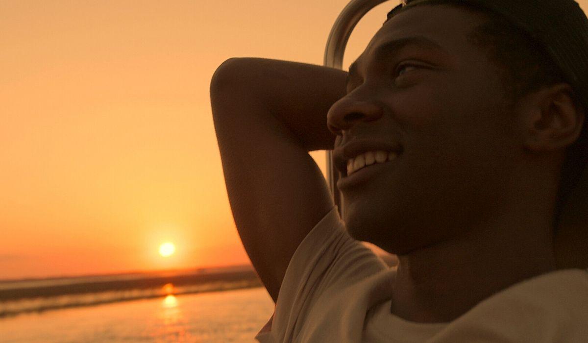 Jonathan Daviss è Pope in Outer Banks serie tv Credits Netflix