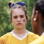 Legacies KAYLEE BRYANT nei panni di JOSIE SALTZMAN, qui nella puntata 1x02 Credits Warner e Mediaset