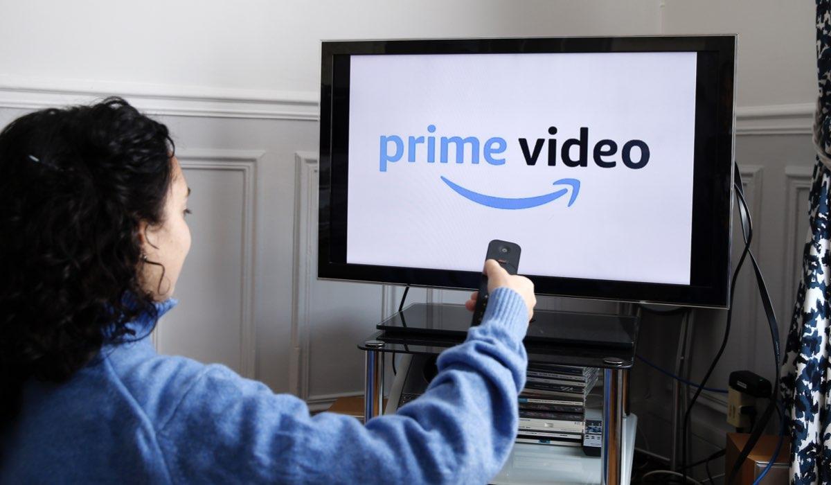 Logo di Amazon Prime Video su una tv in Francia nel 2019 Credits Chesnot e Getty Images