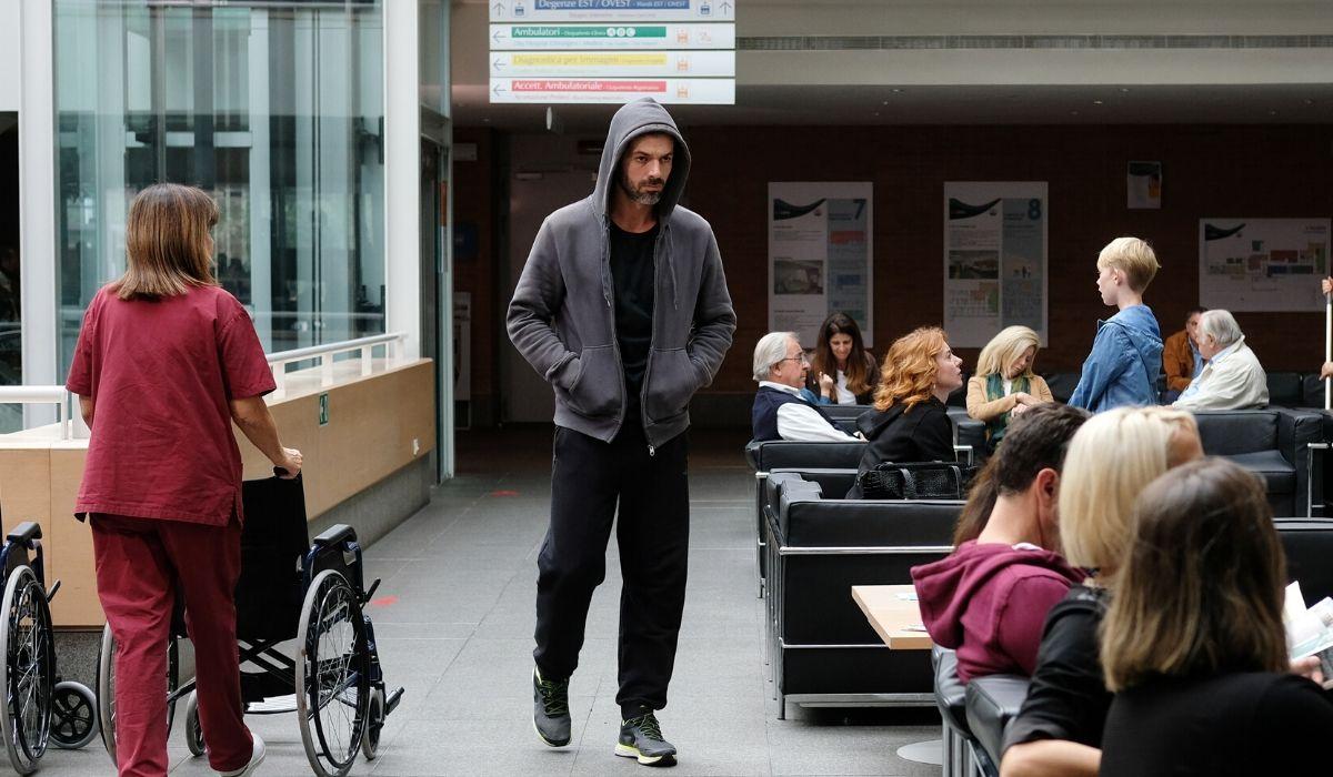 Luca Argentero è Andrea Fanti in Doc- Nelle tue mani fiction Rai, Credits RAI