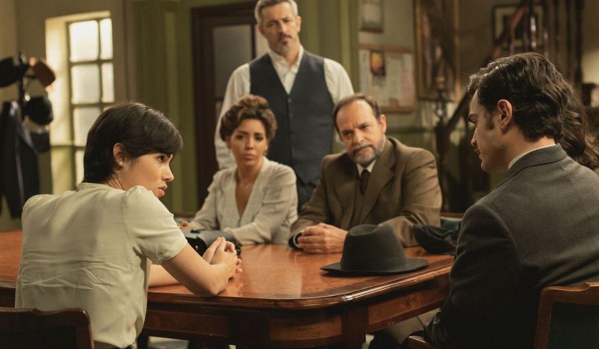 Maria, Emilia, Alfonso e Ramon ne Il Segreto, ATRESMEDIA CORPORACION DE MEDIOS DE COMUNICACION