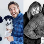 Melissa Benoist mamma presto assieme al marito Chris Wood. Credits @melissabenoist su Instagram