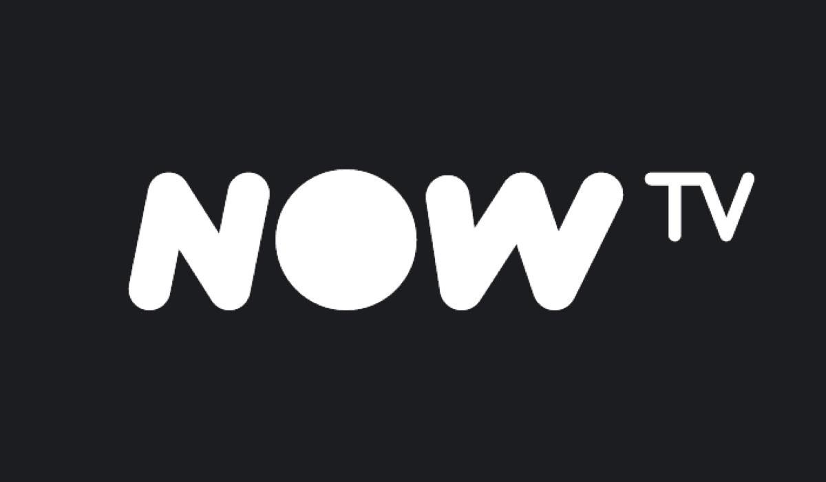 NOW TV logo, Istantanea schermo dal sito ufficiale del 12 marzo 2020 Credits NOW TV