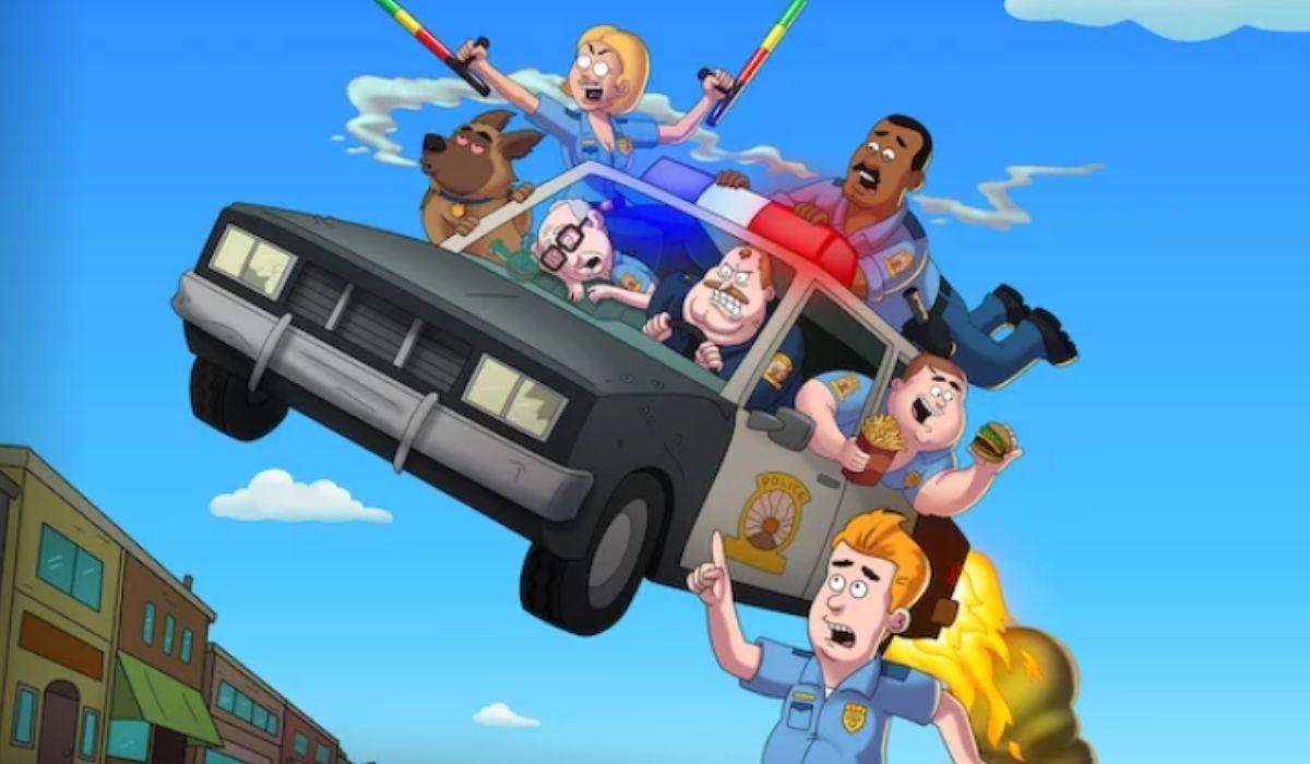 Paradise Police 2 stagione Credits Netflix