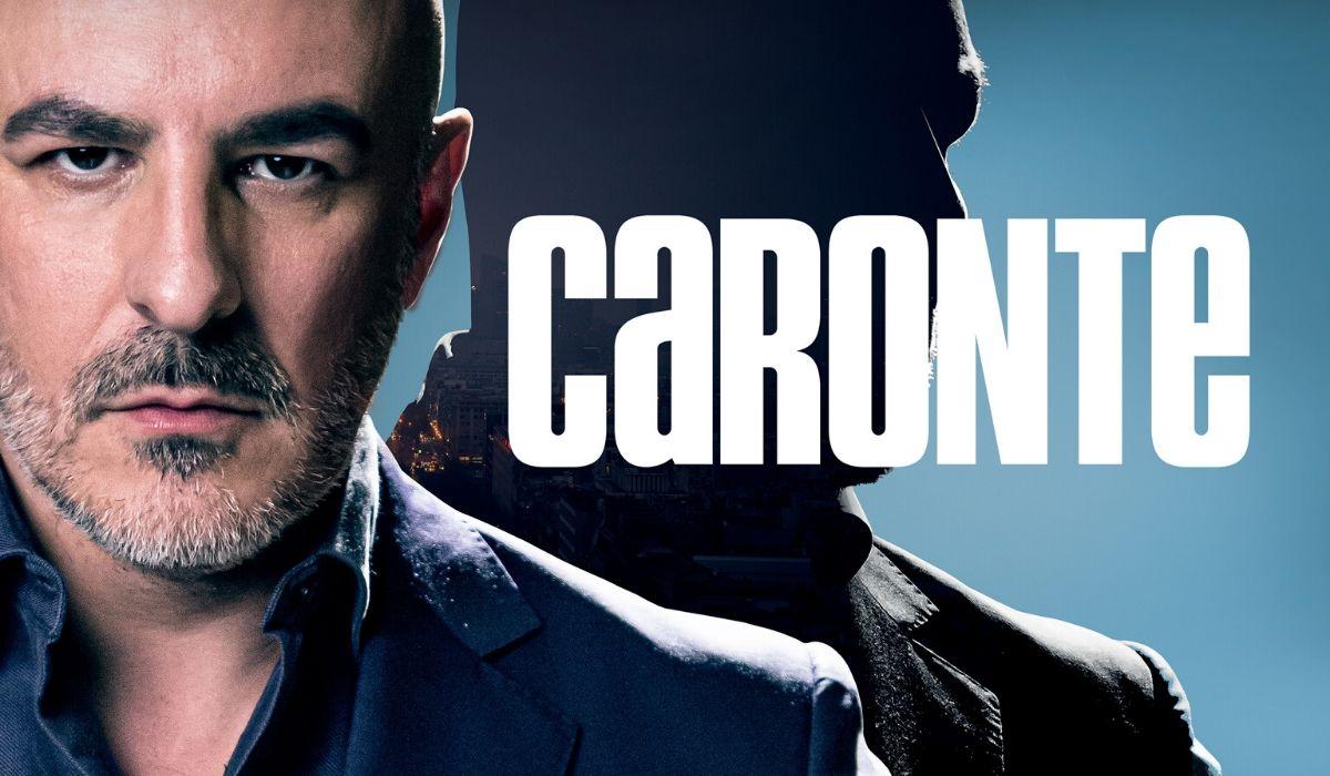 Roberto Alamo nel ruolo di Samuel Caronte in Caronte serie tv, Credits Amazon Prime Video