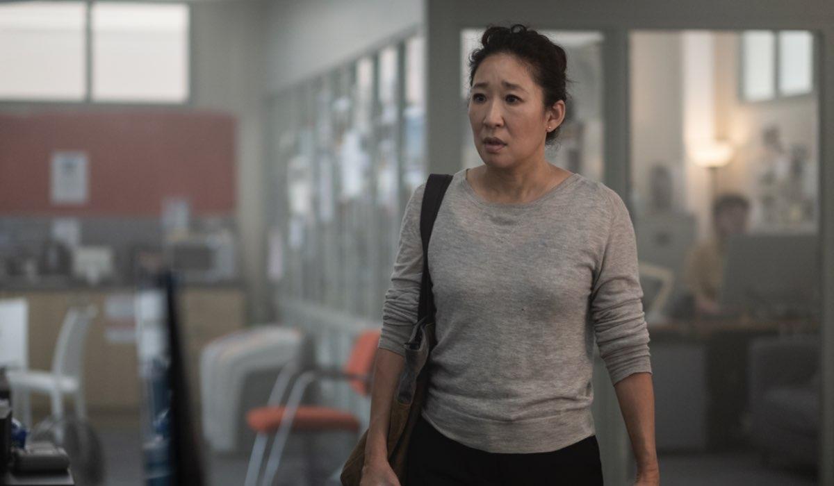 Sandra Oh in una scena di Killing Eve 3. Credits Timvision