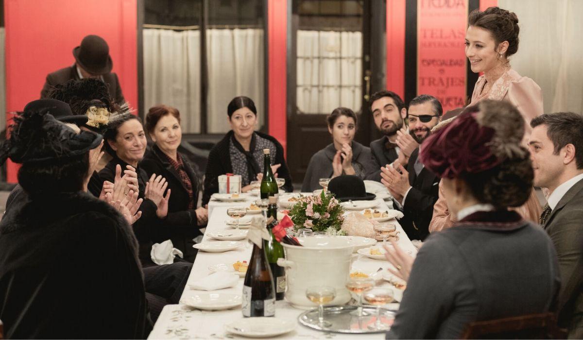 Scena della festa di compleanno di Lucia in Una Vita, Credits Mediaset