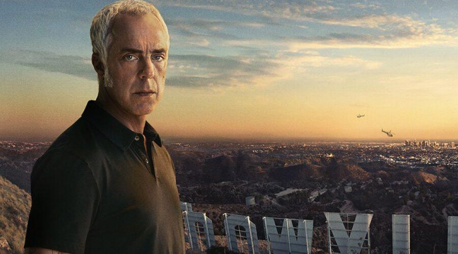 Titus Welliver nel poster di Bosch 6 stagione. Credits Amazon Prime Video