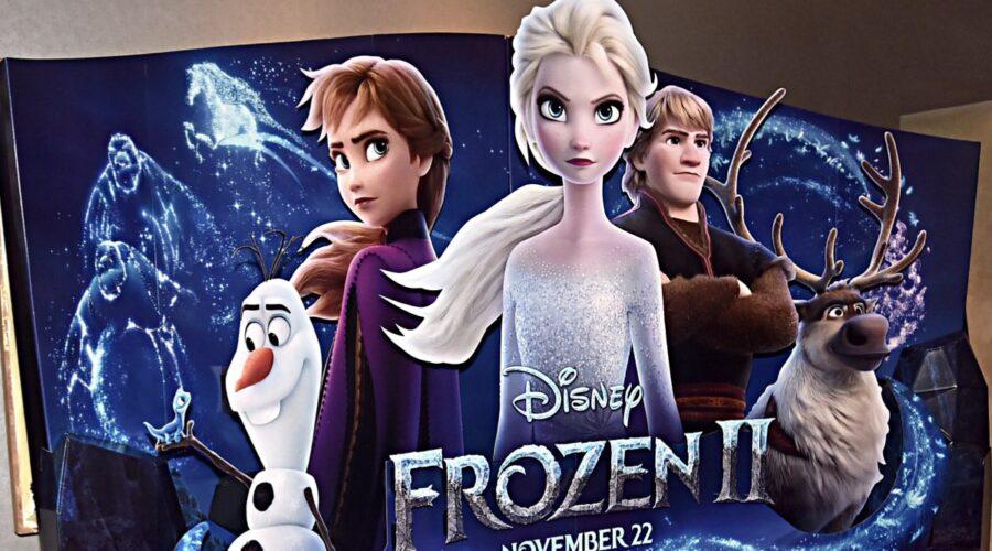Un dettaglio della conferenza stampa mondiale di Frozen 2 al W Hollywood il 9 novembre 2019 Credits Alberto E. Rodriguez e Getty Images per Disney
