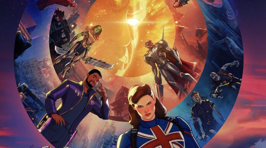 "Poster di ""Marvel's What If..."", dall'11 agosto su Disney+. Credits: Marvel Studios/Disney."