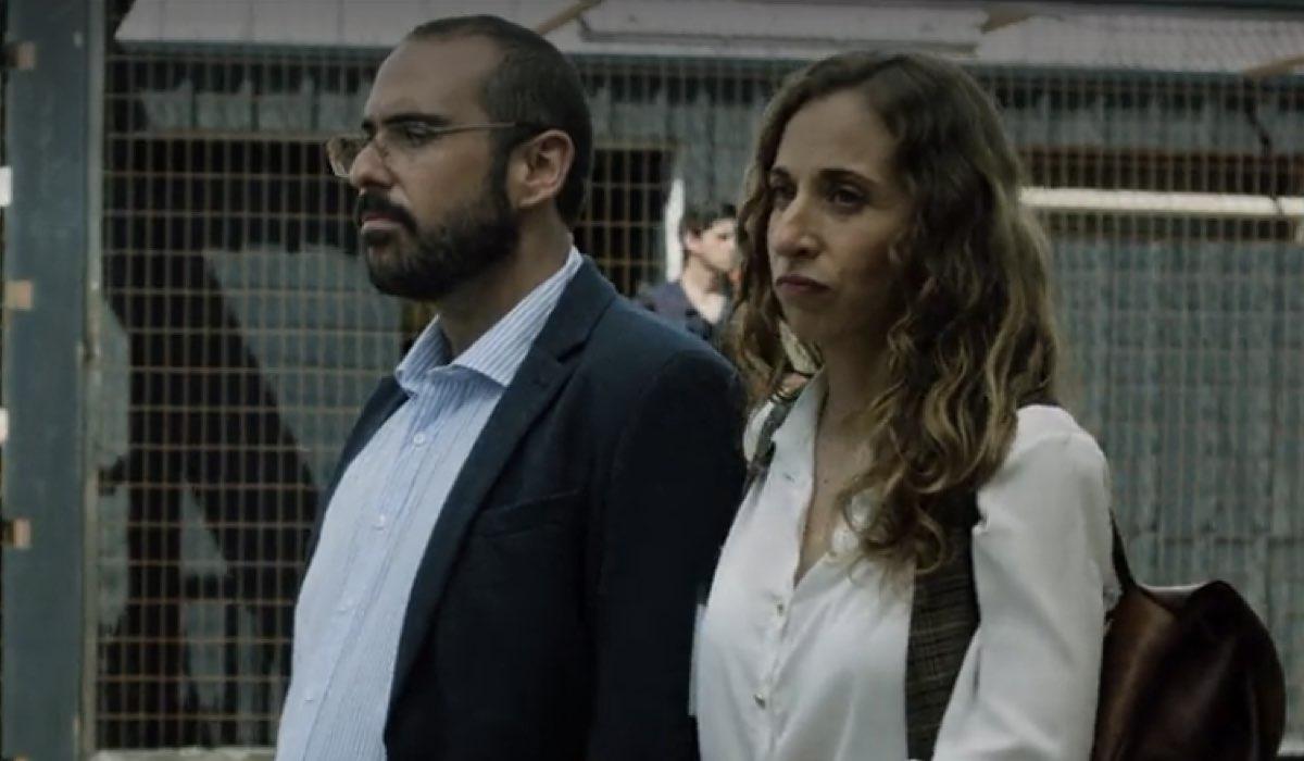 Alberto Velasco e Marta Aledo sono Palacios e Tere in Vis A Vis 4x08 credits Netflix