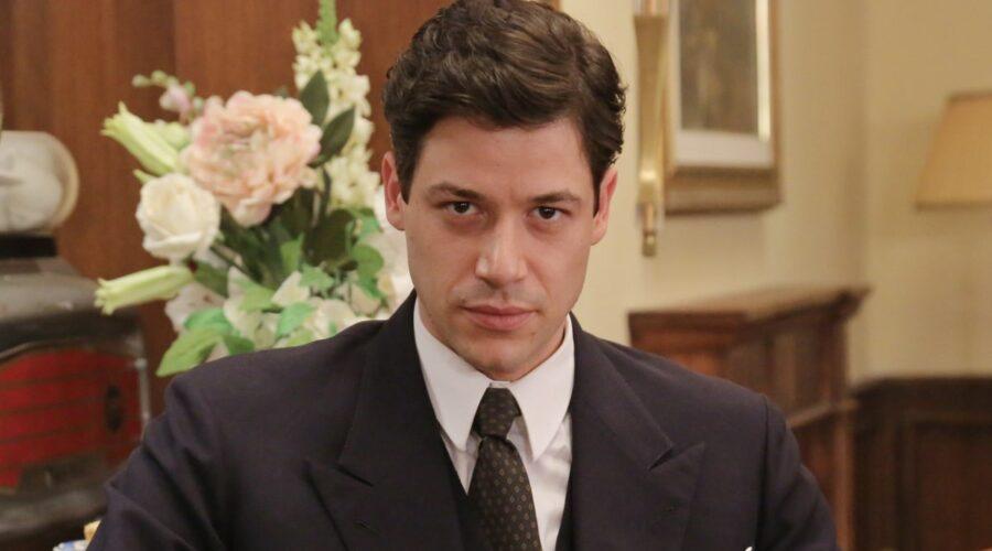 Alessandro Cosentini interpreta Cosimo Bergamini ne Il Paradiso delle Signore Daily 2 Credits foto di P. Bruni e RAI