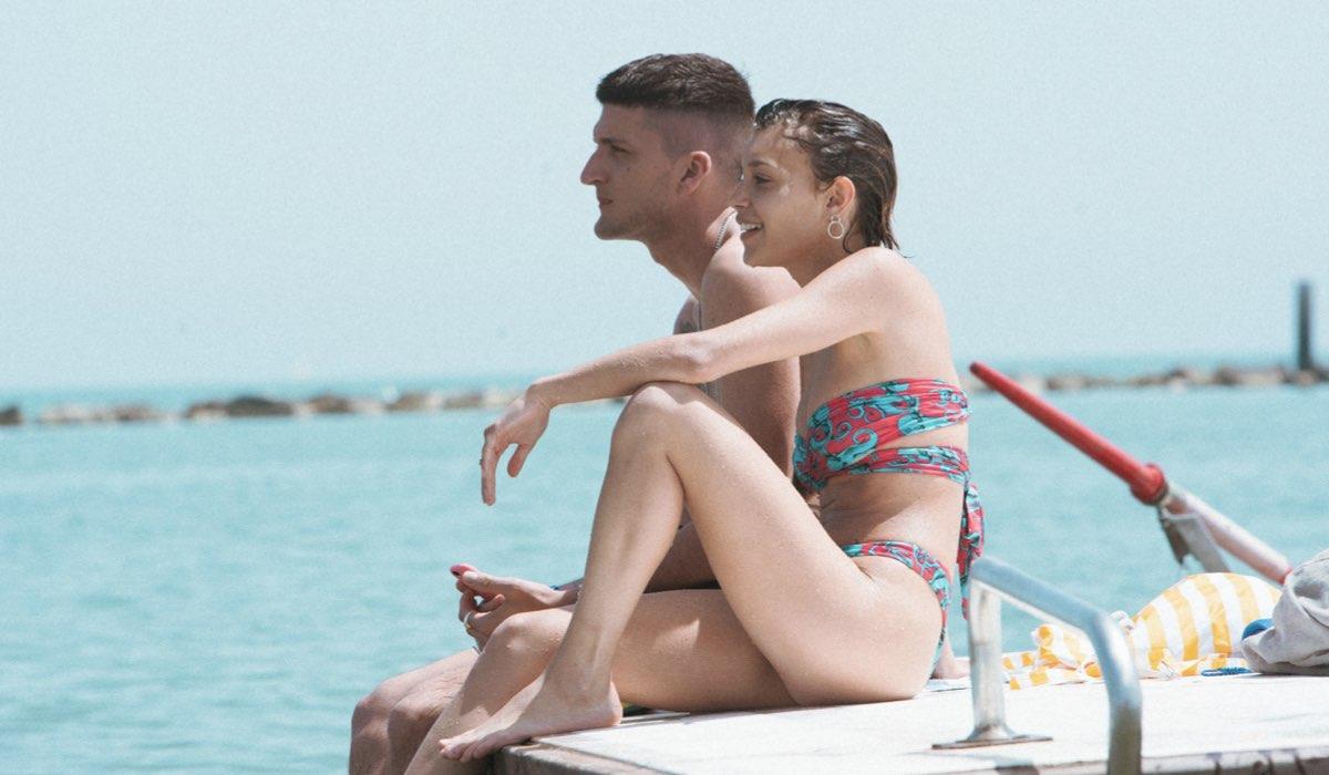 Andrea Lattanzi e Amanda Campana in Summertime. Credits Netflix