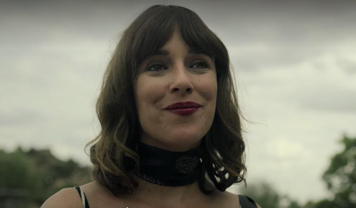 Belén Cuesta nei panni di Julieta ne La Casa di Carta 4. Credits Netflix