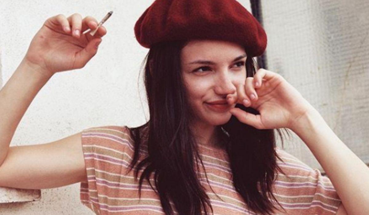 Carlotta Antonelli in una foto condivisa dall'attrice sul suo profilo Instagram verificato