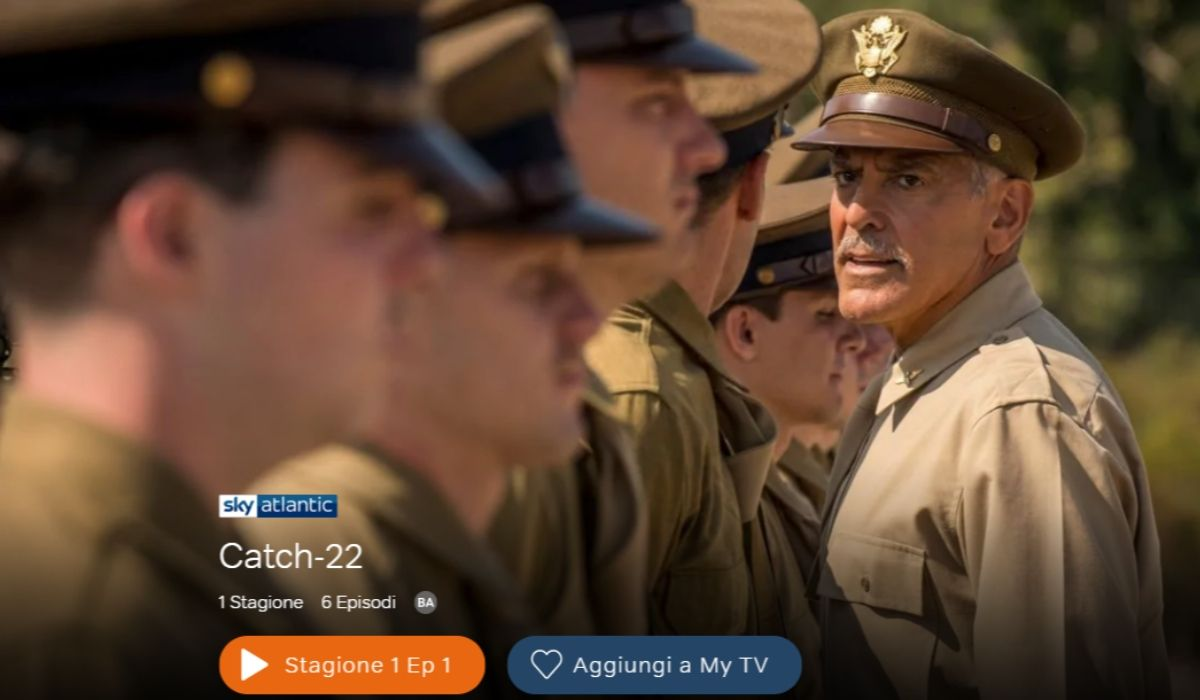Catch-22 serie tv credits Sky e NOW TV