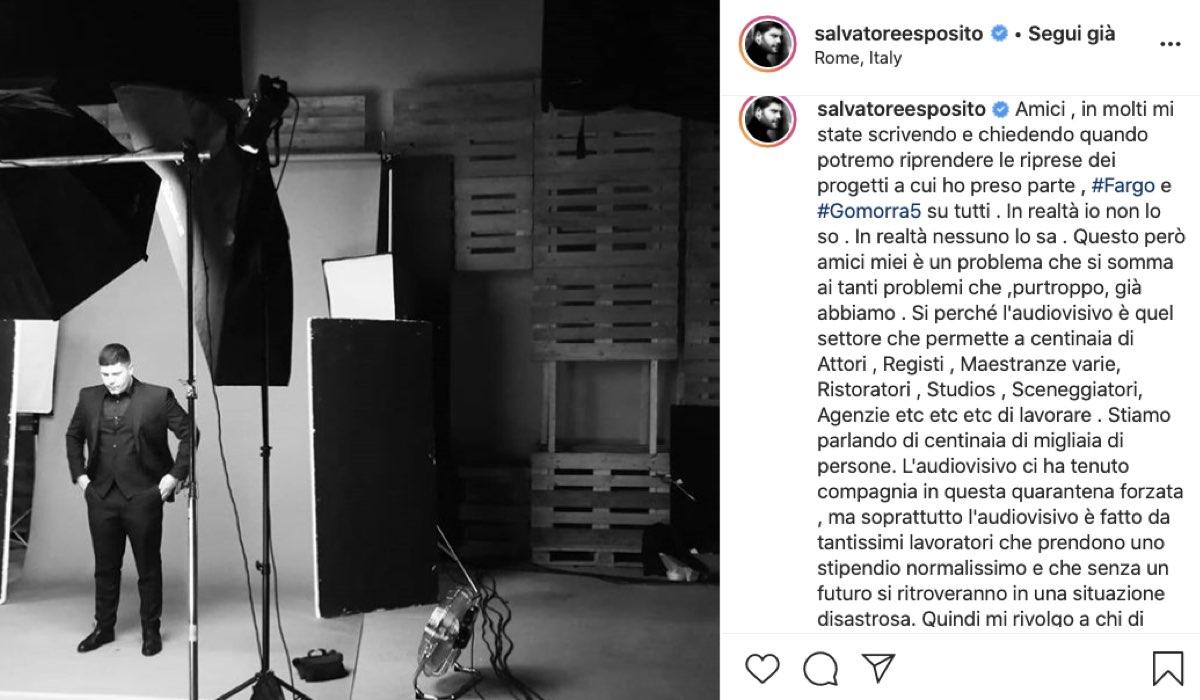 Credits @SalvatoreEsposito su Instagram