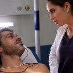 Doc - Nelle tue mani Andrea Fanti e la dottoressa Giulia Giordano interpretati rispettivamente da Luca Argentero e Matilde Gioli Credits RAI