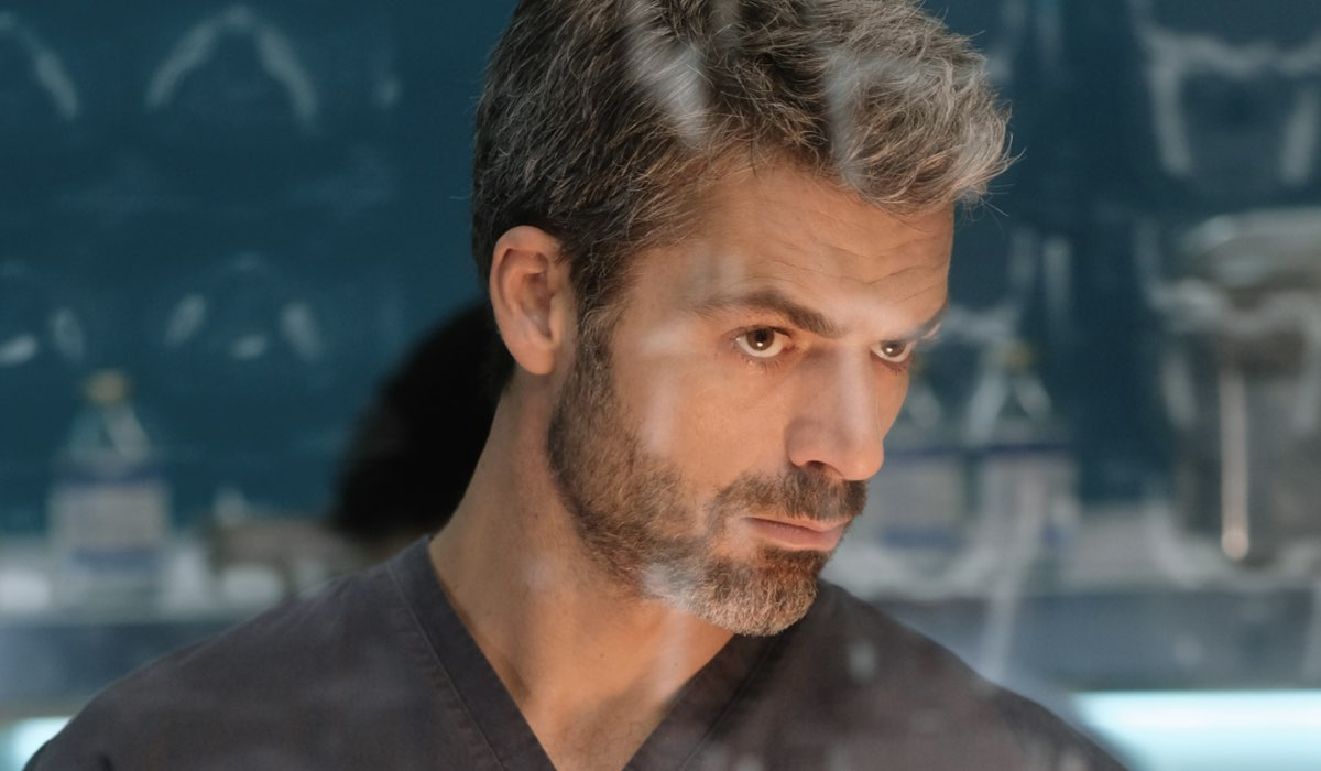 Doc - Nelle tue mani Andrea Fanti interpretato da Luca Argentero qui nell'episodio 8 Il giuramento di Ippocrate RAI