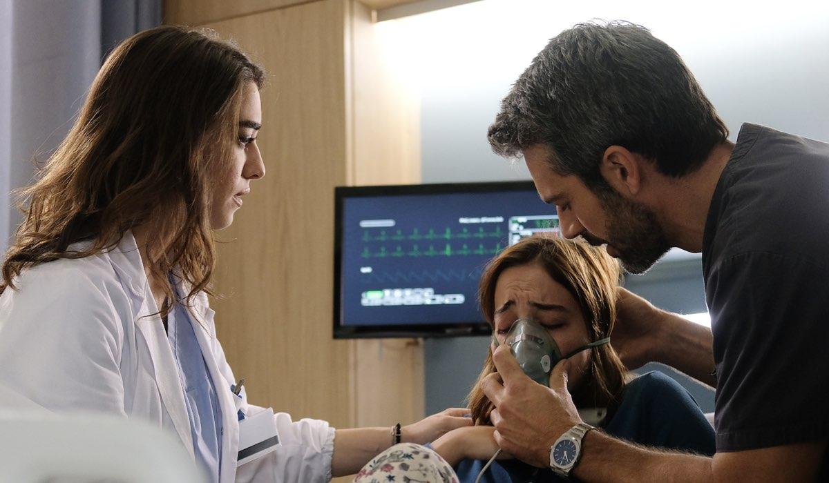 Doc - Nelle tue mani Elisa, Carolina e Andrea Fanti nell'episodio 7 Credits RAI