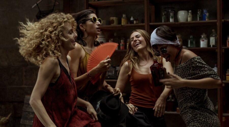 Esther Acebo, Alab Flores, Itziar Ituño e Úrsula Corberó sono Stoccolma, Nairobi, Lisbona e Tokyo ne La Casa di Carta 4. Credits Netflix