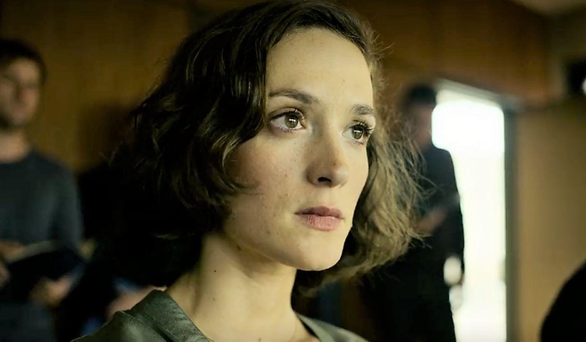 Friederike Becht è l'ispettrice Nadja Simon in Profumo serie tv Credits Netflix