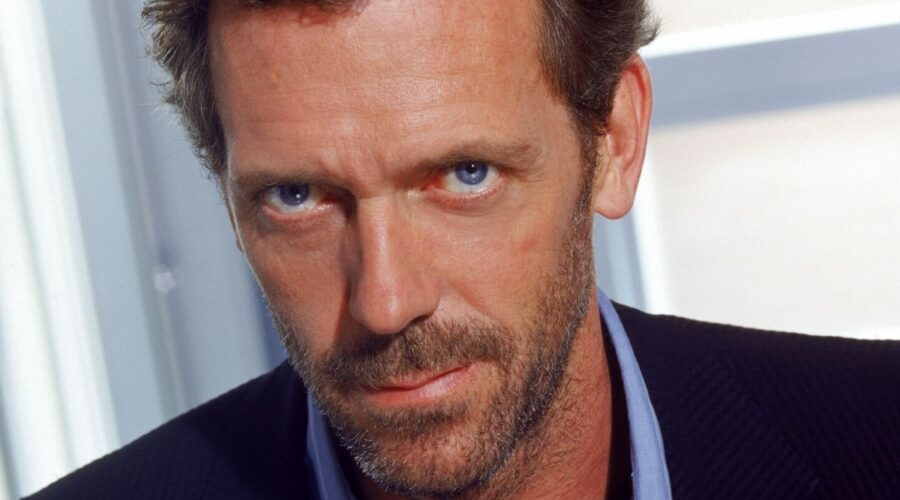 Hugh Laurie è Gregory House in Dr.House serie tv, credit 2004 Universal Network Television LLC. All Rights Reserved