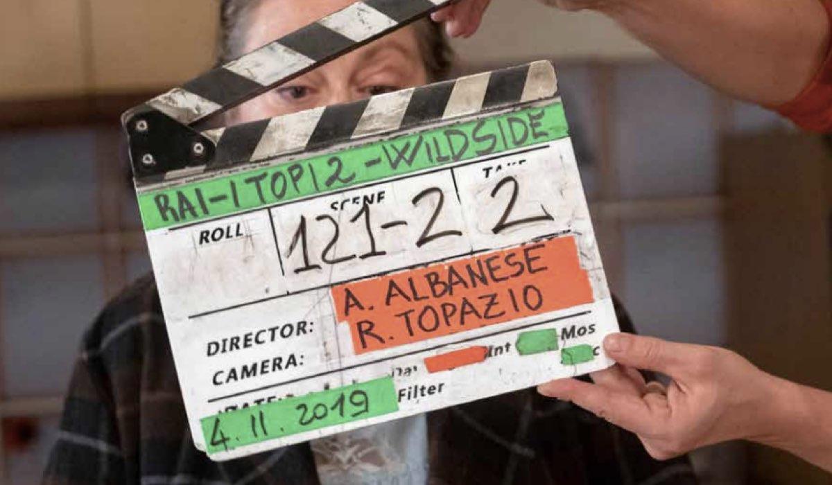 I Topi 2 stagione ideata, diretta e interpretata da Antonio Albanese, qui foto del ciak nel pressbook ufficiale RAI Credits RAI