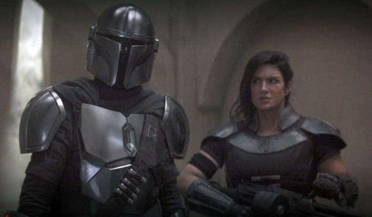 Il Mandaloriano e Cara Dune. Credits Lucasfilm Disney Plus