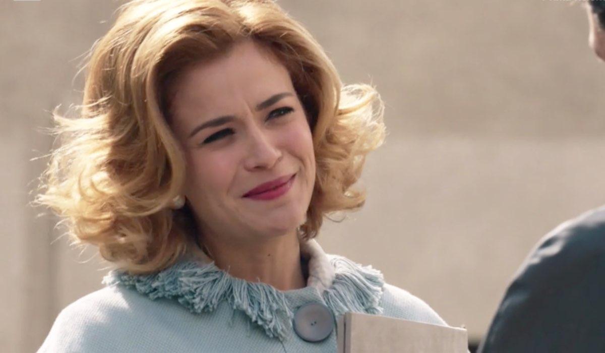 Il Paradiso delle Signore 4 Gabriella Rossi interpretata da Ilaria Rossi, , qui nella puntata 135 Credits RAI