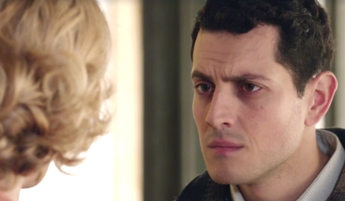 Il Paradiso delle Signore 4 Gabriella e Salvatore interpretati da Ilaria Rossi e Emanuel Caserio, qui nella puntata 117 Credits RAI