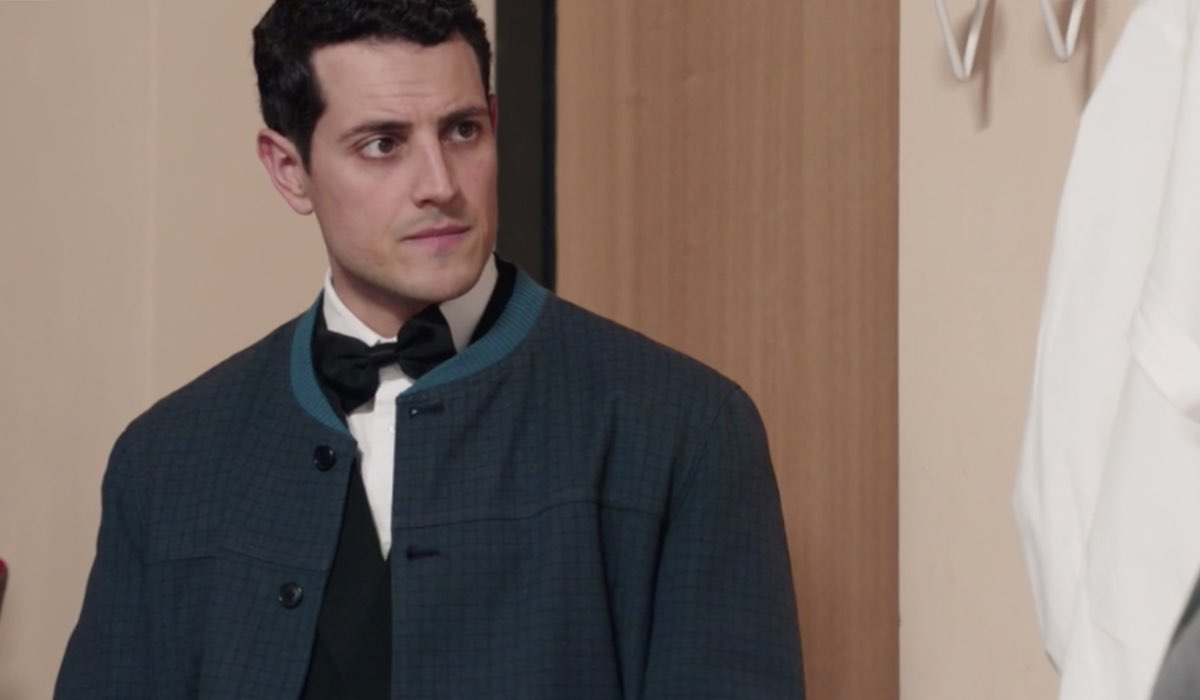 Il Paradiso delle Signore 4 Salvatore Amato interpretato da Emanuel Caserio, qua nella puntata 135 Credits RAI