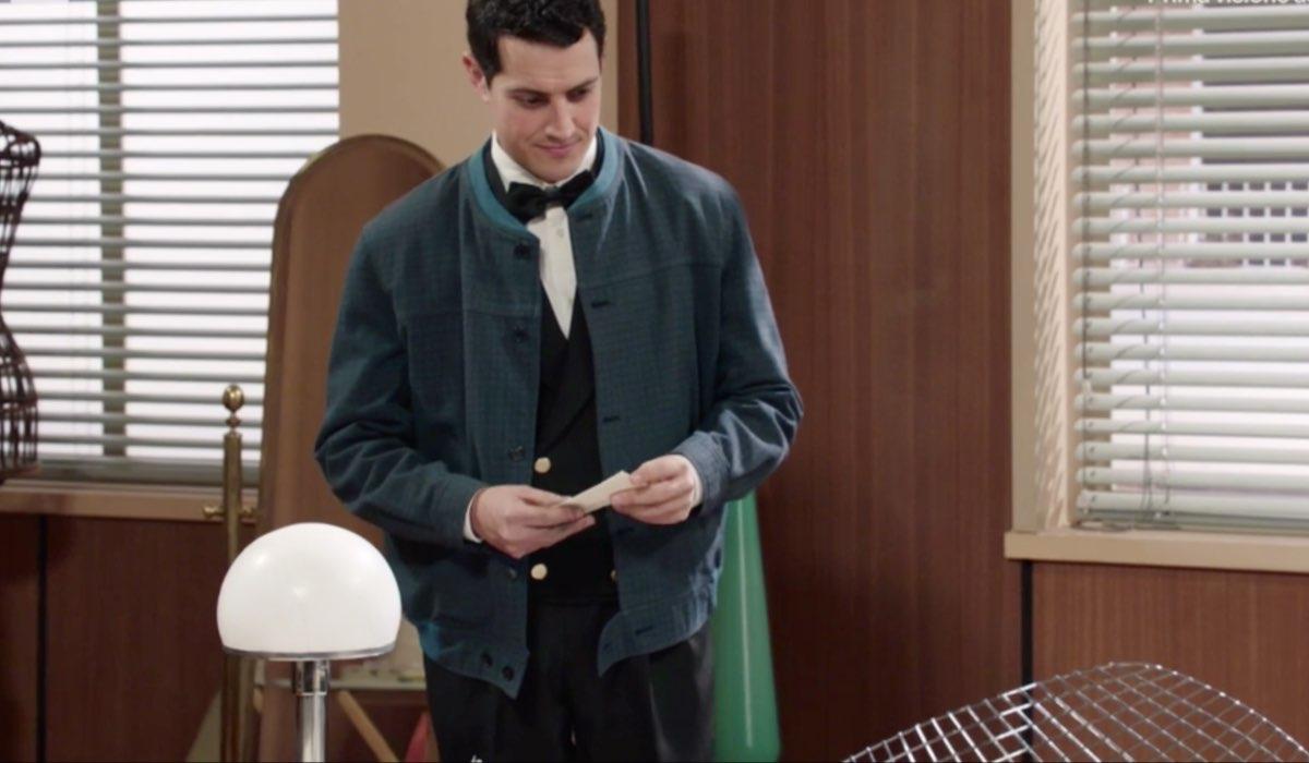 Il Paradiso delle Signore 4 Salvatore Amato interpretato da Emanuel Caserio, qui nella puntata 135 Credits RAI