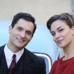 Il Paradiso delle Signore 4 Vittorio Conti e Marta Guarnieri interpretati rispettivamente da Alessandro Tersigni e Gloria Radulescu Credits P. Bruni e RAI