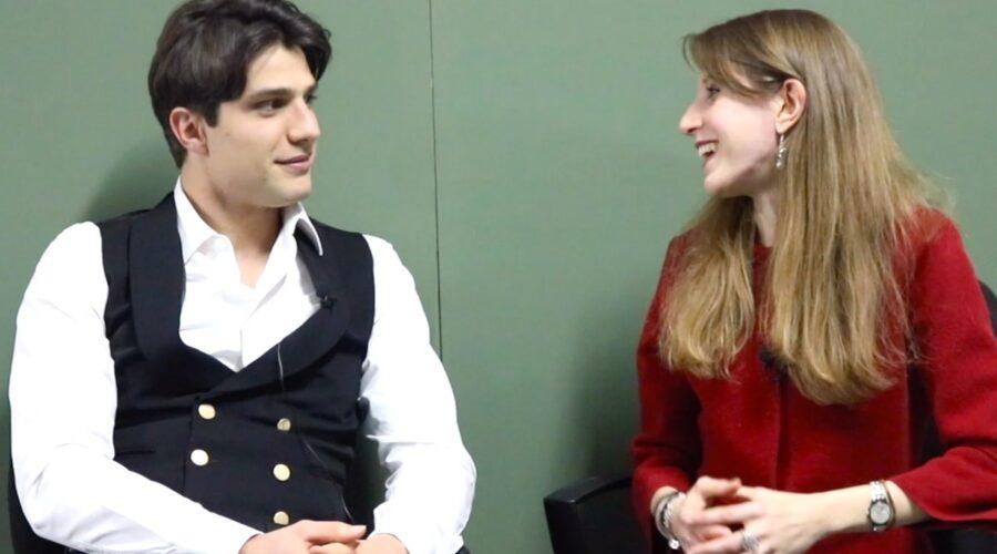 Il Paradiso delle Signore 4 intervista del 5 febbraio 2020 a Pietro Masotti interprete di Marcello Barbieri